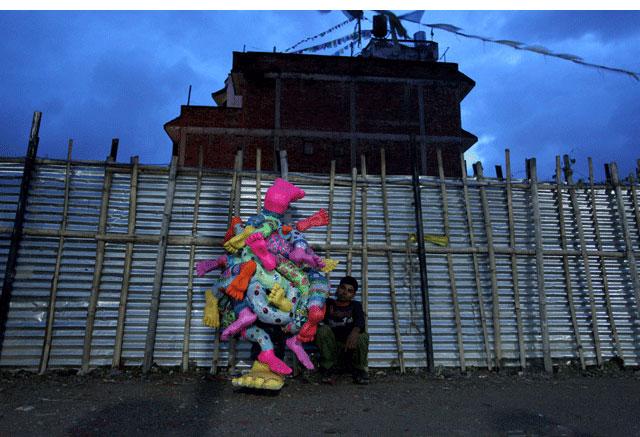 bruno levy artist bigfoot kathmandu nepal